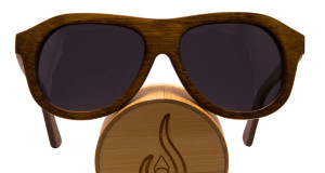Vesica Captain bamboo sunglasses