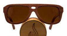 Vesica Chuck skateboard deck sunglasses