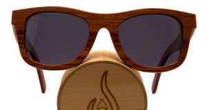 Vesica wave skateboard deck sunglasses