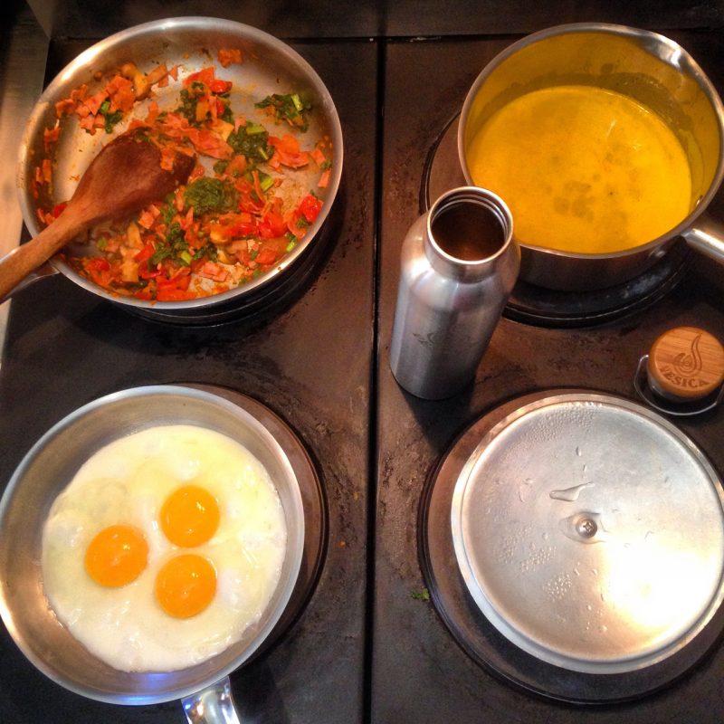 Vesica thermos breakfast