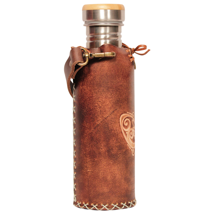 Butterfly Brown Deluxe Vesica waterbottlecase 4 of 4
