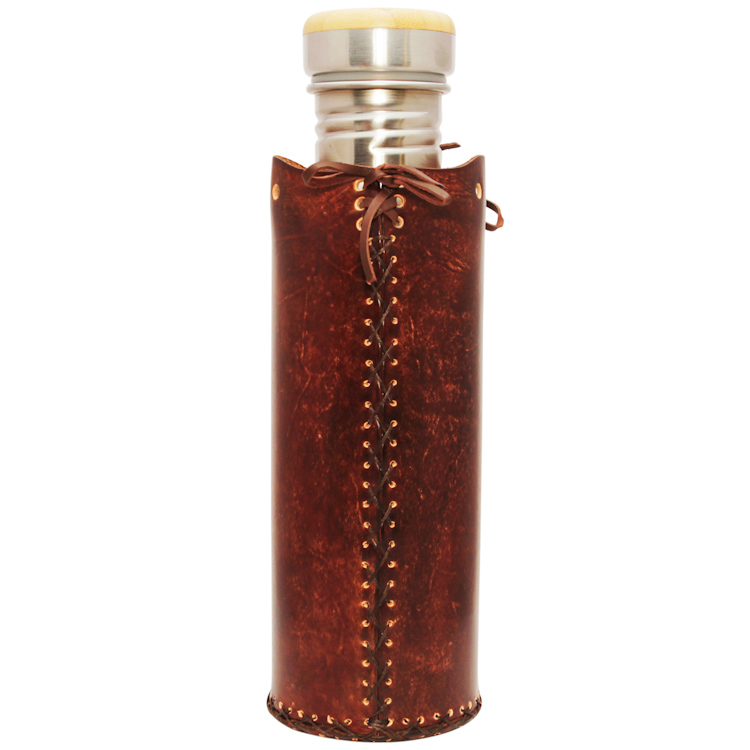 Heart BrownVesica waterbottlecase deluxe 31