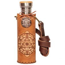 Triangle grid Timber Deluxe Vesica waterbottlecase 1 of 4
