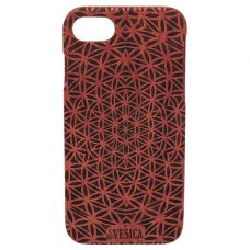 Vesica Wood phone case flower of life
