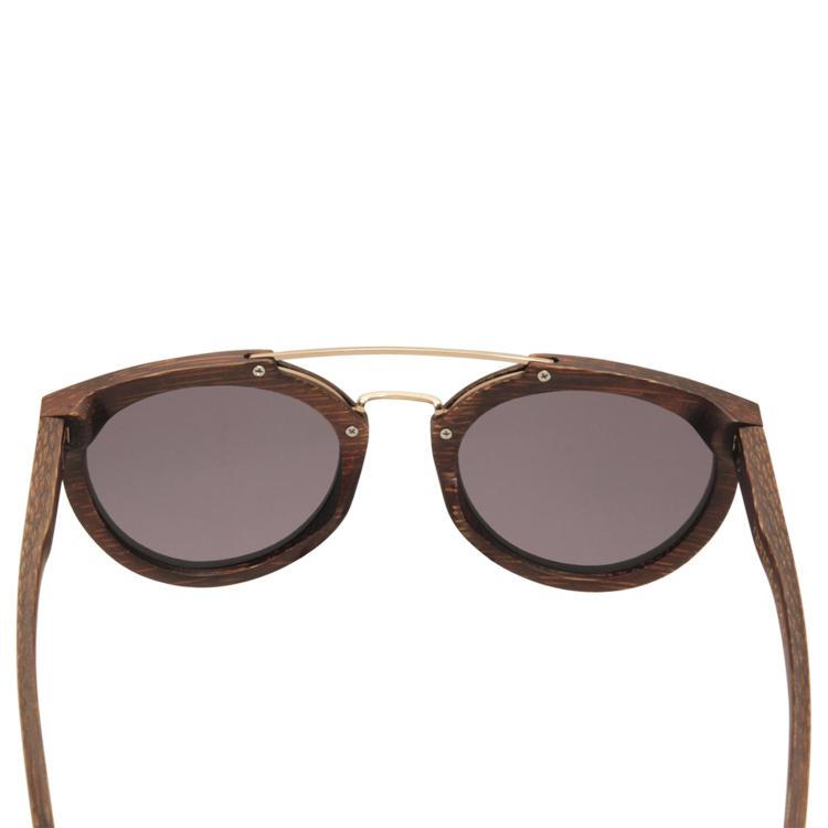 Vesica Wood sunglasses back Manta