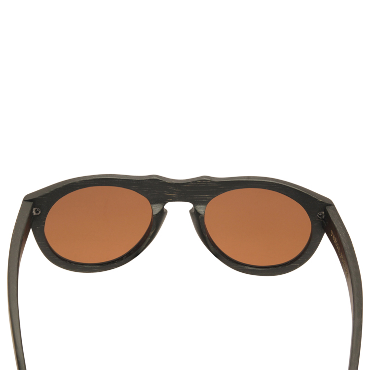 Vesica Wood sunglasses back Mason