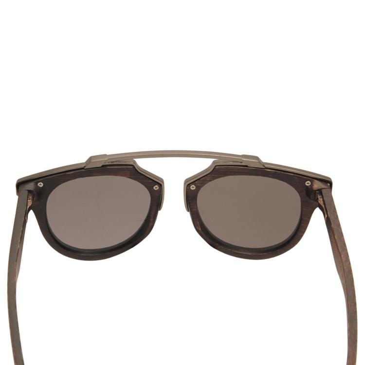 Vesica Wood sunglasses back Tide