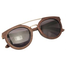 Vesica Wood sunglasses fold Manta