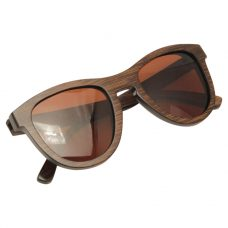 Vesica Wood sunglasses fold Orion