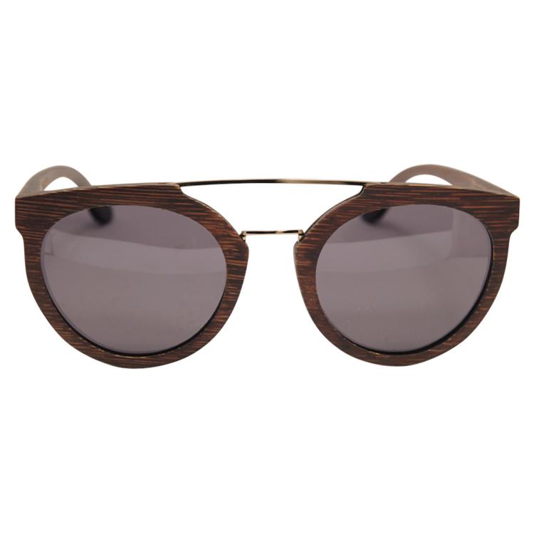 Vesica Wood sunglasses front Manta