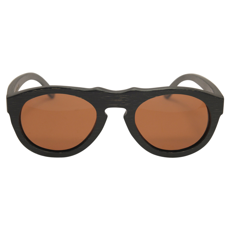 Vesica Wood sunglasses front Mason