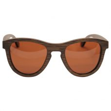 Vesica Wood sunglasses front Orion