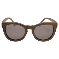 Vesica Wood sunglasses frontBrooklyn bwn