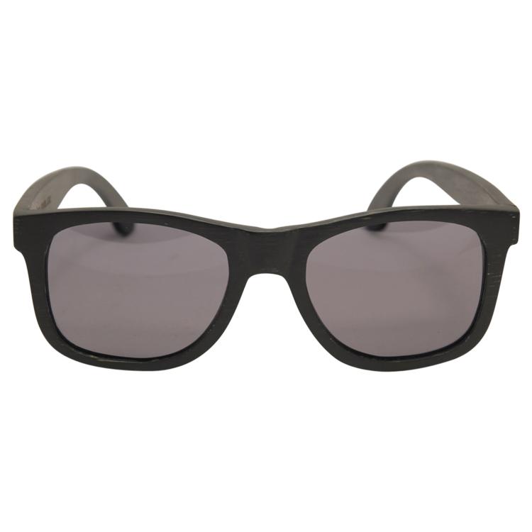 Vesica Wood sunglasses frontJah Blk