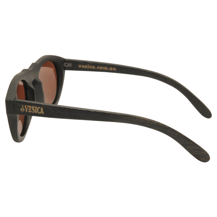 Vesica Wood sunglasses side Mason