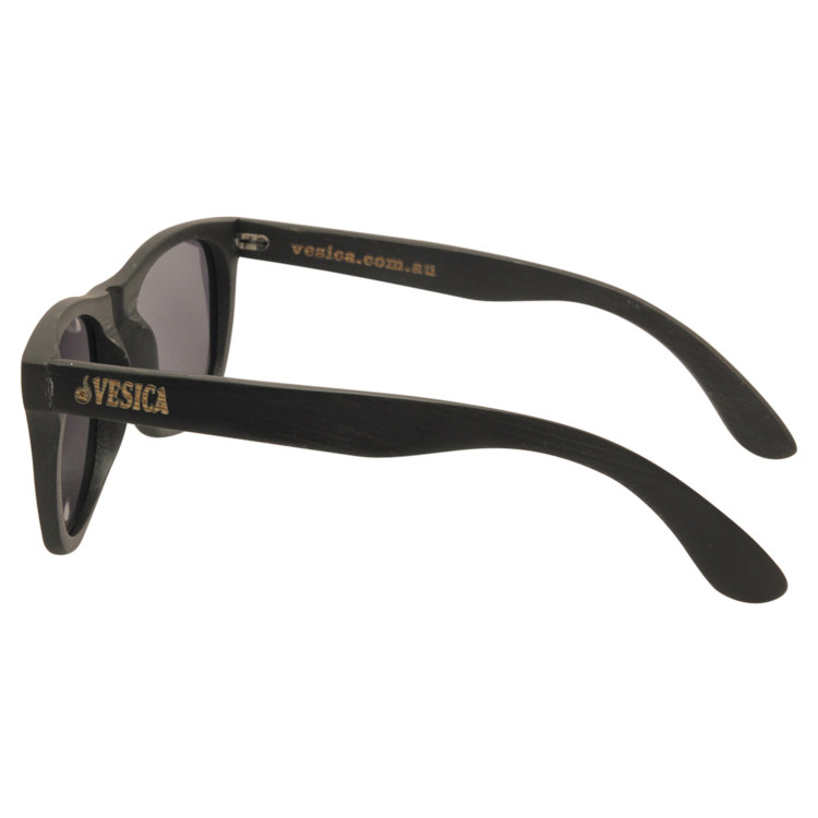 Vesica Wood sunglasses sideJah Blk