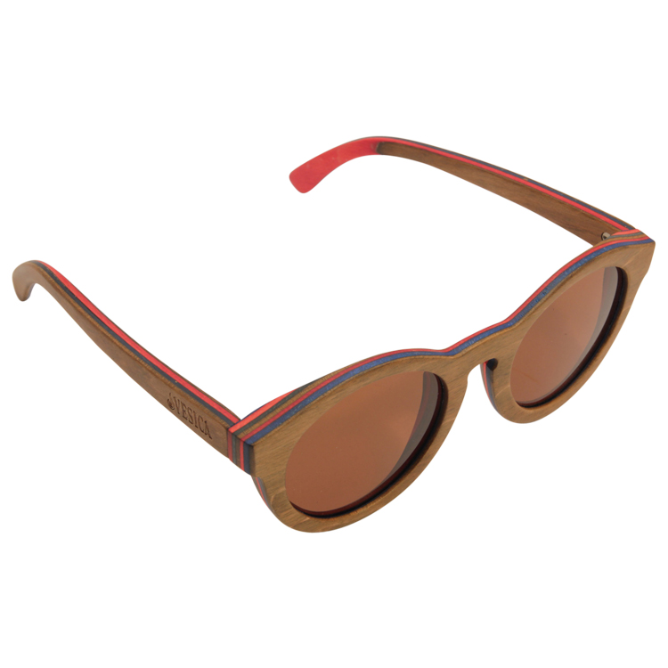 Vesica Wood sunglasses top Mojo