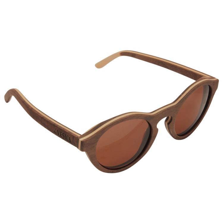 Vesica Wood sunglasses top Zia maple