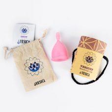 Vesica menstrual cup package