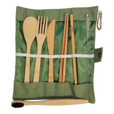 Vesica Cutlery set Green
