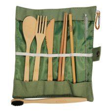 Vesica Cutlery set Green