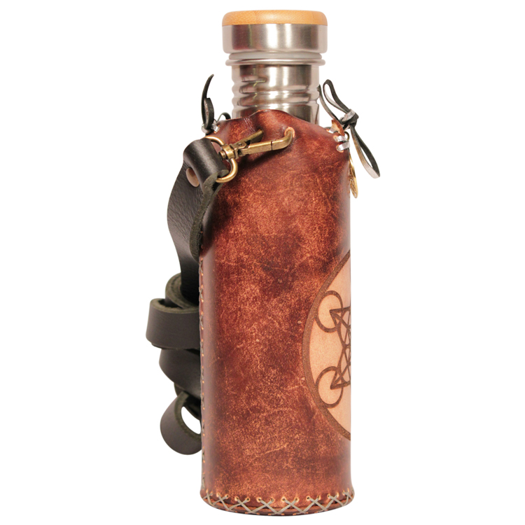 Metatron Brown Deluxe Vesica waterbottlecase 4 of 4