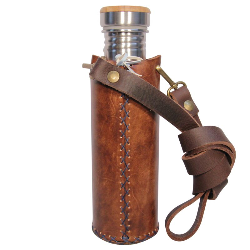 Earth brown A Deluxe Vesica waterbottlecase 3 of 4