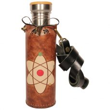 Atom Brown Deluxe Vesica waterbottlecase 1 of 4