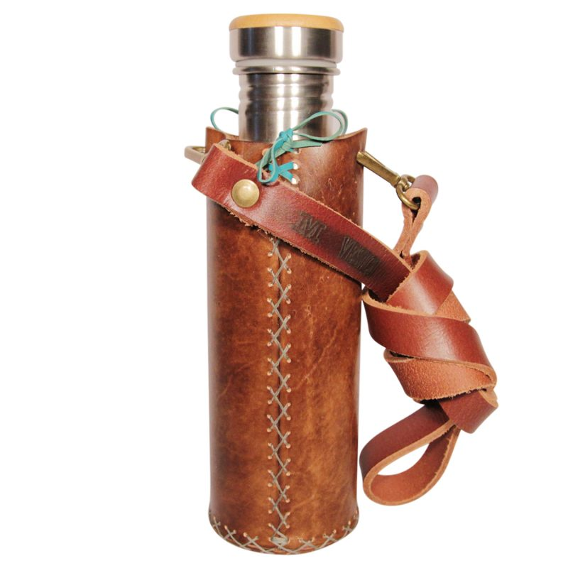 Butterfly A brown Deluxe Vesica waterbottlecase 3 of 4