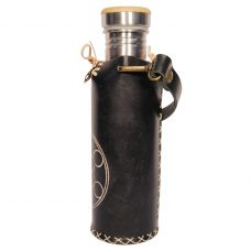 Fruit of life black Deluxe Vesica waterbottlecase 2 of 4