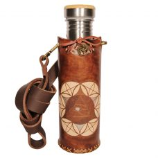 Horus SOL A brown Deluxe Vesica waterbottlecase 1 of 4