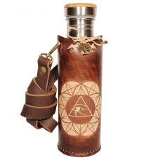 Horus SOL brown Deluxe Vesica waterbottlecase 1 of 4