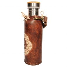 Horus SOL brown Deluxe Vesica waterbottlecase 2 of 4