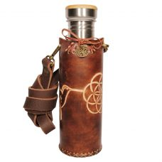 Hummingbird SOL brown Deluxe Vesica waterbottlecase 1 of 4