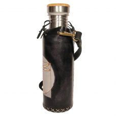 Vituvian man black Deluxe Vesica waterbottlecase 2 of 4