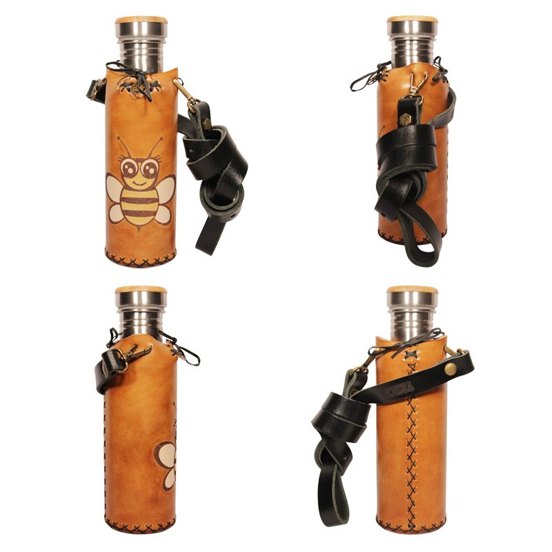 Bee A Tan Deluxe Vesica waterbottlecase collage