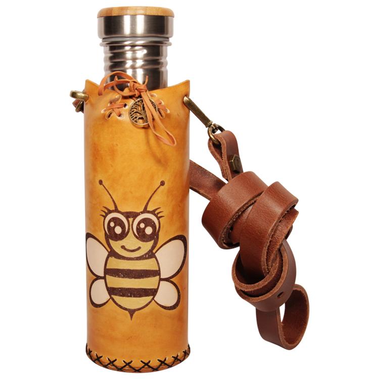 Bee Tan Deluxe Vesica waterbottlecase 1 of 4