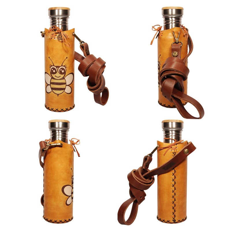 Bee Tan Deluxe Vesica waterbottlecase collage