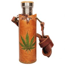 Hemp A Tan Deluxe Vesica waterbottlecase 1 of 4