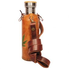 Hemp A Tan Deluxe Vesica waterbottlecase 2 of 4