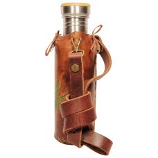 Hemp Brown Deluxe Vesica waterbottlecase 2 of 4