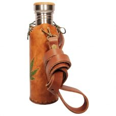 Hemp Tan Deluxe Vesica waterbottlecase 2 of 4