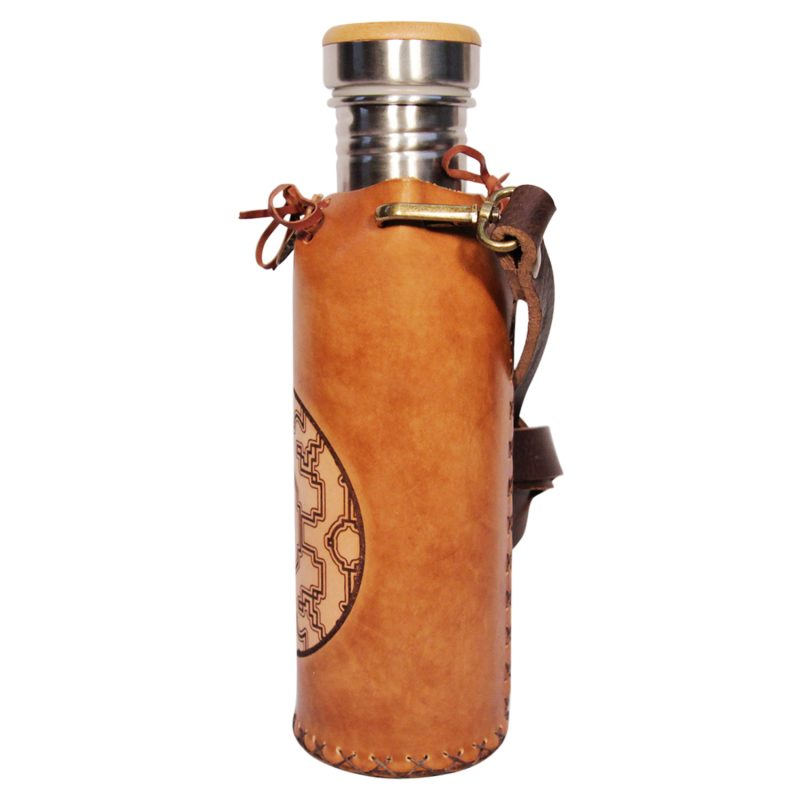 Shipibo Timbrown Deluxe Vesica waterbottlecase 2 of 4