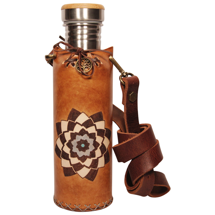 Spiral TimBrown Deluxe Vesica waterbottlecase 1 of 4