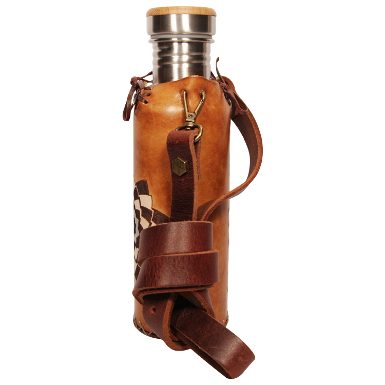 Spiral TimBrown Deluxe Vesica waterbottlecase 2 of 4