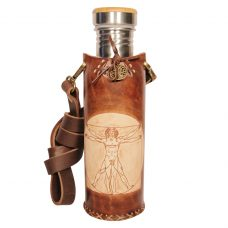 Viturian man brown Deluxe Vesica waterbottlecase 1 of 4