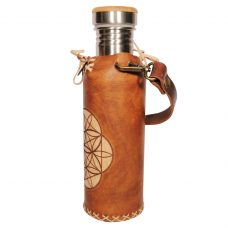 Seed of life timbrown Deluxe Vesica waterbottlecase 2 of 4