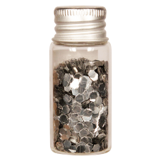 Vesica bioglitter Silver chunky