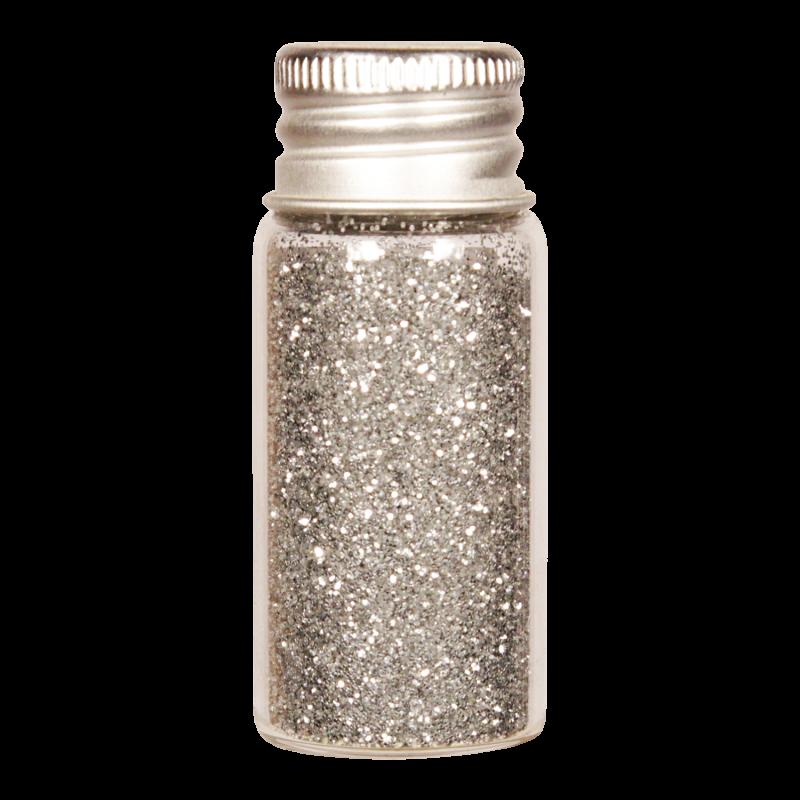 Vesica bioglitter Silver fine