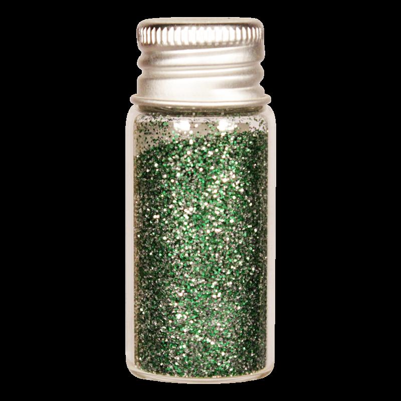 Vesica bioglitter Silver Green fine
